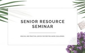 senior resource seminar image