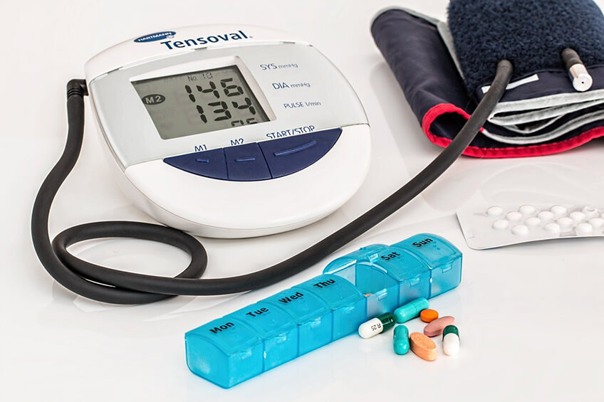 blood pressure medicine and machine