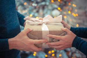 image of gift giving