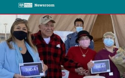 Tablets Donated to ICU Patients